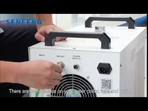 fiber cutting laser water chiller/cooler