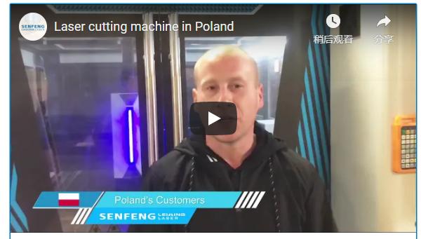 Full Cover Fiber Laser Cutting Machine in Poland